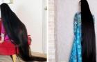 """Eine Frau hat mit 20 Jahren beschlossen, sich die Haare nicht mehr zu schneiden: Jetzt wird sie als """"Japans Rapunzel"""" bezeichnet"""