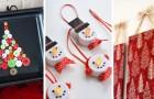 12 idee facili ed economiche per realizzare originali decorazioni natalizie con oggetti riciclati