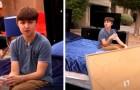 Um adolescente rouba o carro de seus pais: o pai o pune vendendo todas as suas coisas