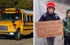 Die Kinder waren unhöflich zum Busfahrer: Ihre Mutter lässt sie 7 km bis zur Schule laufen