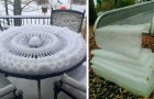 18 times when snow created such incredible works of art that people had to stop and photograph them
