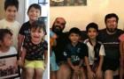 Een homoseksueel stel slaagt erin om 3 broers en een zus uit een weeshuis te adopteren: