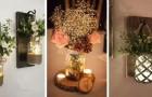 9 fantastiche lanterne fiorite da realizzare riciclando i barattoli di vetro