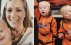 De ouders van een tweeling met Down laten enkele afbeeldingen zien van hun tedere alledaagse leven