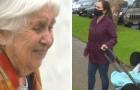 Een 95-jarige oma wordt met uitzetting bedreigd omdat ze vanaf het balkon met haar kleindochter praatte