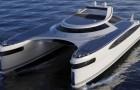 Un designer italien présente un catamaran amphibie à énergie solaire : il est super-luxueux et peut se déplacer partout