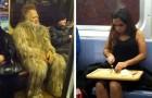 15 personnes bizarres photographiées dans les transports publics montrent qu'elles se fichent du jugement des autres