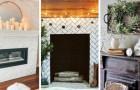10 astuces super créatives pour décorer la cheminée de façon charmante et avec goût
