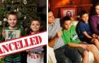 I figli continuano a comportarsi male, così i genitori cancellano il Natale per dar loro una lezione