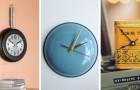 Orologi fai-da-te: 10 trovate super-originali per realizzarli con oggetti riciclati e materiali di scarto