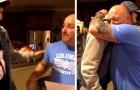 Este menino pergunta ao padrasto se ele quer ser seu pai legalmente: o vídeo da cena é emocionante