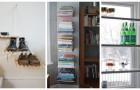 10 solutions géniales et créatives pour créer des meubles utiles et gagner de la place en plus à la maison
