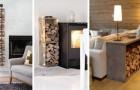 9 solutions brillantes pour réaliser des porte-bois beaux et pratiques avec le DIY