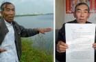 Um agricultor estuda direito sozinho para levar a juízo a empresa que poluiu as suas terras