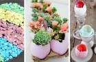8 strepitose idee per usare i gusci delle uova e realizzare fantastiche decorazioni