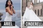 Disney lanciert eine Linie von Hochzeitskleidern: 16 Kleider, inspiriert von den Prinzessinnen der Märchen