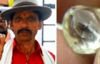 A poor farmer finds an $80,000 diamond while working the land: now he will be able to pay for college for his children