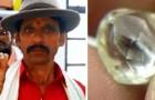 Ein armer Bauer findet einen 80.000-Dollar-Diamanten, während er den Boden bearbeitet: Jetzt wird er für das Studium seiner Kinder bezahlen können