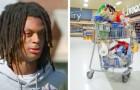 Un adolescente dona 35 $ ad un anziano che non aveva soldi a sufficienza per pagare tutta la spesa