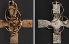 Une croix anglo-saxonne a été retrouvée après 1000 ans : les opérations de nettoyage ont révélé de curieuses décorations
