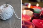 La méthode simple pour réaliser vous-mêmes des mèches pour les bougies