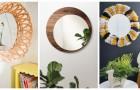 10 splendide cornici per specchi fai-da-te ideali per arredare con gusto e fascino qualsiasi stanza