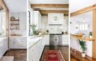 10 astuces pleines de charme pour meubler la cuisine avec des poutres apparentes en bois