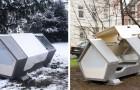 Des capsules futuristes installées dans une ville allemande pour donner un abri aux SDF