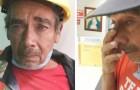 Un operaio gentile si indebita per aiutare un collega: quando scopre di essere stato truffato, scoppia in lacrime