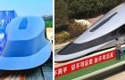 In China wird der Prototyp des schnellsten Zuges der Welt vorgestellt: er erreicht 620 km/h
