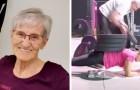 Op haar 81ste doet ze elke dag gymnastiek: haar video's zijn het bewijs dat het nooit te laat is om in vorm te komen