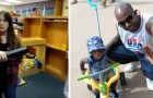 A grandfather gets mad at the kindergarten teacher for allowing his 2-year-old grandson to wear a dress