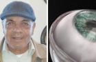 Effettuato il primo trapianto di cornea artificiale al mondo: un uomo cieco di 78 anni riacquista la vista