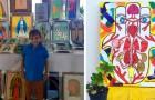 Ein armer Junge verkauft seine Gemälde, um seine medizinische Behandlung zu bezahlen: Er leidet an einer seltenen Krankheit