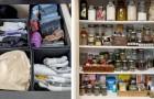 Maniakken van netheid: 15 ideeën om objecten te rangschikken en ruimte te creëren in huis, ook al heb je dat niet