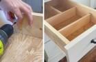 Divisori in legno per cassetti: il tutorial semplice per fabbricarli su misura per la vostra casa