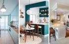 8 inspirations de grand effet pour meubler une petite cuisine