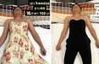 """Haar man valt in slaap en ze verandert hem in een """"model"""" door hem de kleding te laten dragen die ze online verkoopt"""