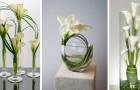 10 strepitosi centrotavola da realizzare con gli eleganti fiori di calla