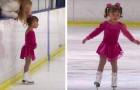 Mit drei Jahren kann sie bereits Schlittschuh laufen und gewinnt ihren ersten Sportwettkampf, wobei sie die Herzen der Jury erobert