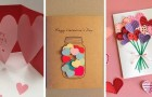 10 propositions irrésistibles pour des cartes de Saint Valentin DIY faciles et rapides à réaliser
