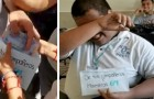 Children in a class make a collection to allow a poor classmate to continue studying