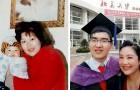 Hij is geboren met een ernstige handicap, maar zijn moeder geeft niet op: nu is hij een modelstudent aan Harvard