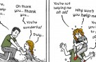 Ein Cartoonist porträtiert die Dynamik einer toxischen Beziehung: Das Werk entstammt seiner eigenen Erfahrung