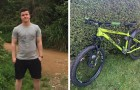 Compra una bicicletta rubata e la restituisce al proprietario: viene ricompensato per il suo nobile gesto