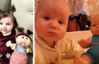 16 föräldrar visar oss den otroliga likheten mellan sina barn och deras dockor, den ena sötare än den andra