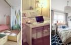 10 solutions brillantes pour meubler avec goût et commodité même les plus petites chambres