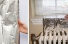 Il trucco della carta stagnola per aumentare la potenza dei termosifoni e scaldare prima la casa