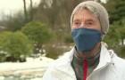 À 90 ans, elle marche 10 km dans la neige pour recevoir le vaccin anti-Covid :