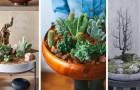 Un giardino in un vassoio: scoprite come creare deliziose composizioni verdi dentro a vari contenitori